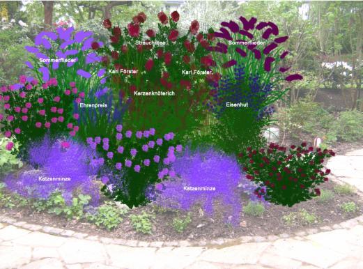 Vorschl ge beet gefl ster individuelle gartengestaltung und pflanzencoaching - Gartengestaltung vorschlage ...